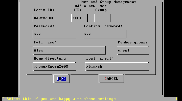 FreeBSD User Management